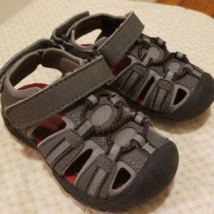 Toddler boy size 6 sandals